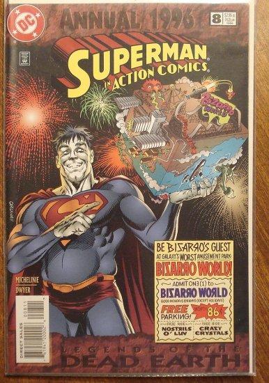 Action Comics Annual #8 comic book - DC Comics - Superman