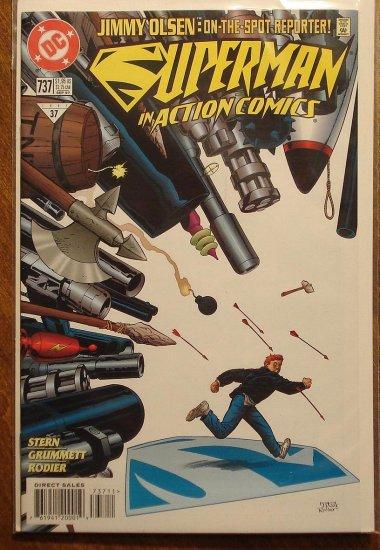 Action Comics #737 comic book - DC Comics - Superman