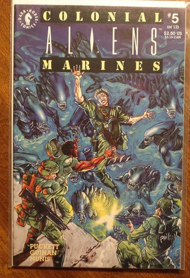 Aliens: Colonial Marines #5 comic book - Dark Horse Comics
