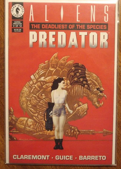 Aliens vs Predator: The Deadliest of the Species #2 comic book - Dark Horse Comics