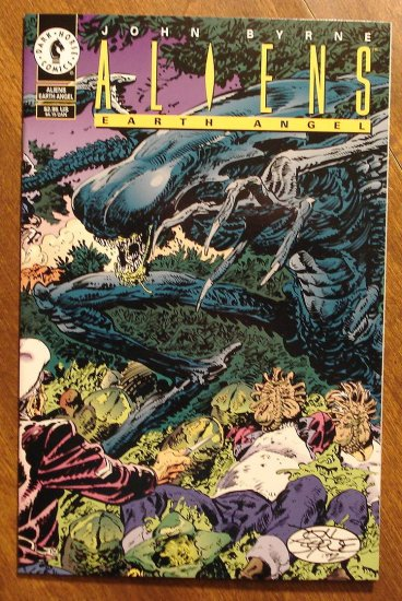 Aliens: Earth Angel comic book - Dark Horse Comics, John Byrne