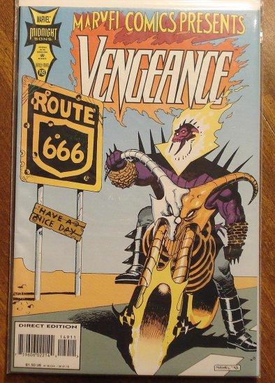 Marvel Comics Presents #149 comic book, Vengeance & Daughters of the Dragon