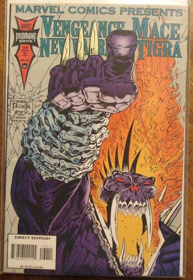 Marvel Comics Presents #162 comic book, Vengeance, Tigra, Mace, New Warriors