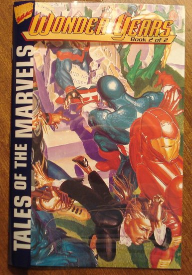 Tales of the Marvels - Wonder Years #2 comic book - Marvel Comics, acetate cover Wonder Man, NM/M