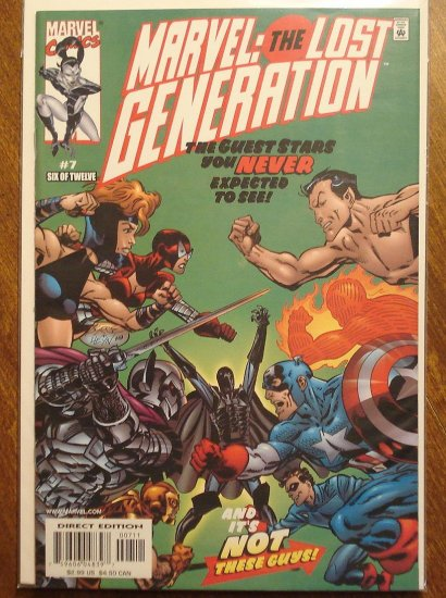 Marvel - The Lost Generation #7 comic book, Marvel comics