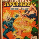Marvel Super-Heroes 1992 Fall Special comic book, Ghost Rider, Giant Man, Ms Marvel