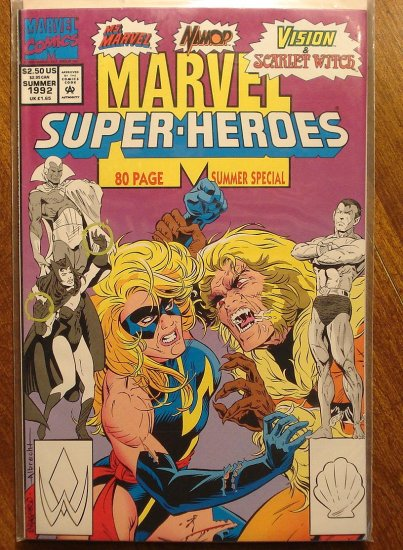 Marvel Super-Heroes 1992 Summer Special comic book, Vision, Namor the Sub-Mariner, Ms Marvel