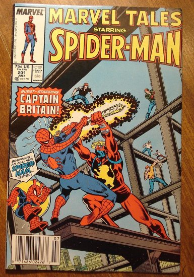 Marvel Tales #201 comic book, Spider-Man