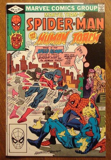 Marvel Team-Up #121 Spider-Man & Human Torch comic book - Marvel comics
