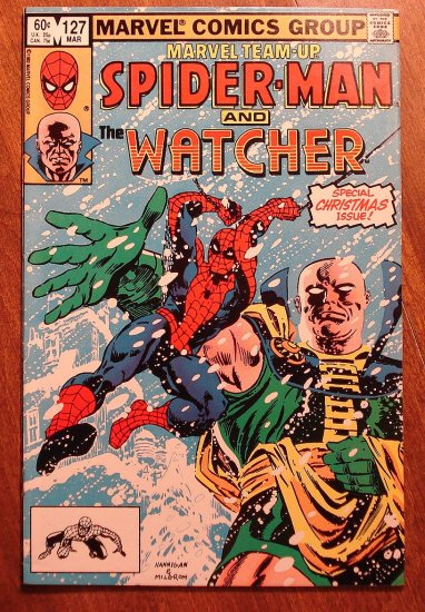 Marvel Team-Up #127 Spider-Man & The Watcher comic book - Marvel comics