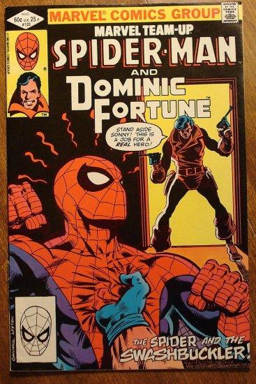 Marvel Team-Up #120 Spider-Man & Dominic Fortune comic book - Marvel comics