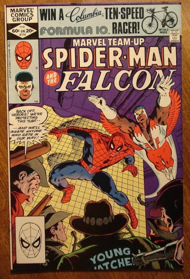Marvel Team-Up #114 Spider-Man & The Falcon comic book - Marvel comics