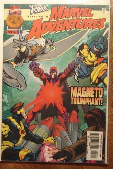 Marvel Adventures #3 comic book - Marvel comics, X-Men, Magneto
