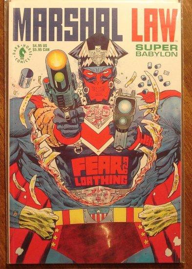 Marshal Law: Super Babylon graphic novel comic book, Dark Horse Comics