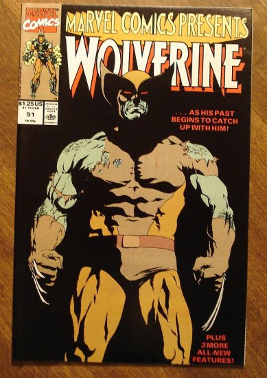 Marvel Comics Presents #51 comic book, Wolverine