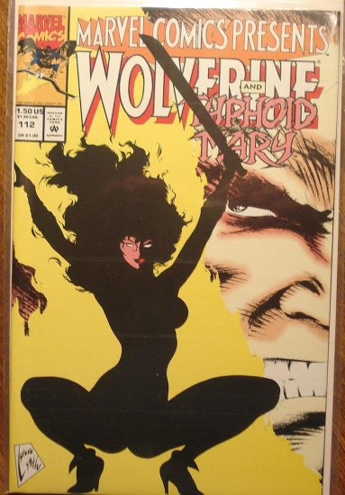 Marvel Comics Presents #112 comic book, Werewolf, Ghost Rider