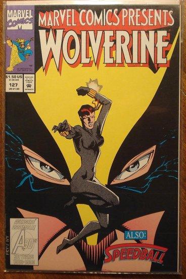 Marvel Comics Presents #127 comic book, Wolverine, Ghost Rider