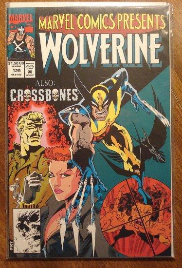 Marvel Comics Presents #129 comic book, Wolverine, Ghost Rider