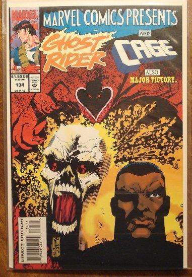 Marvel Comics Presents #134 comic book, Wolverine, Ghost Rider