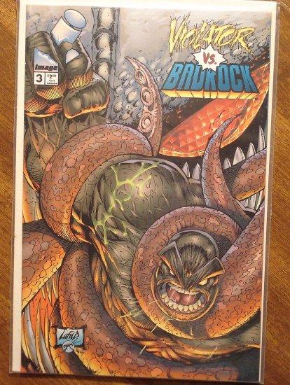 Violator vs Badrock #3 comic book - Image Comics