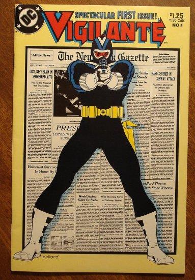 Vigilante #1 comic book - DC Comics version of The Punisher