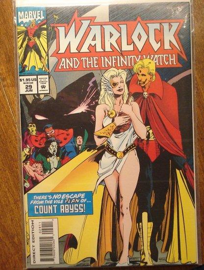 Warlock & The Infinity Watch #29 comic book - Marvel comics