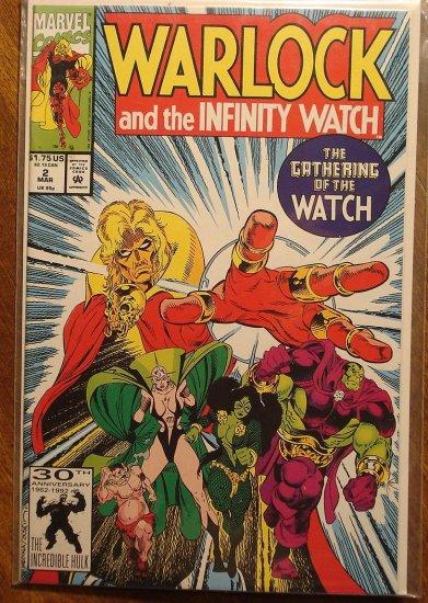 Warlock & The Infinity Watch #2 comic book - Marvel comics