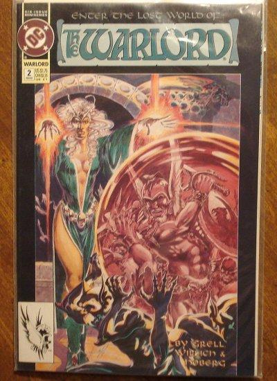 Warlord #2 (1990's) comic book - DC Comics