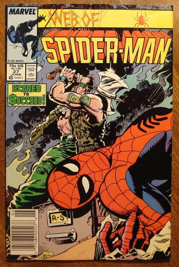 Marvel Comics - Web of Spider-Man #27 comic book, spiderman