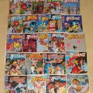 Team Titans #'s 1 - 24 with all 5 #1 cover variants & Annuals 1 & 2 comic book DC Comics Teen Titans
