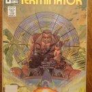 The Terminator #8 comic book - Now Comics