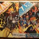 Blaze: Legacy of Blood #1 & 2 comic book - Marvel Comics