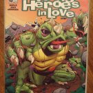 Young Heroes In Love #10 comic book - DC comics