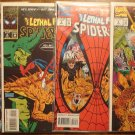 Lethal Foes of Spider-Man #'s 1, 2, 3, 4 comic book - Marvel Comics