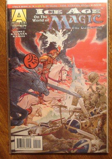 Magic The Gathering Ice Age 2 Comic Book Armada Comics