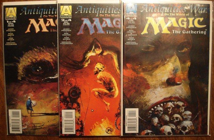 Magic The Gathering Antiquities War S 1 2 4 Comic