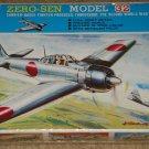 Fujimi Zero-Sen (Zero Sen) Model 32 WWII Japanese fighter airplane model kit MIB Unassembled 1:72