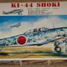 Fujimi KI-44 Shoki WWII Japanese armored fighter airplane model kit MIB Unassembled 1:72