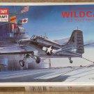 Academy Grumman F4F-4 Wildcat WWII Navy fighter airplane model kit MIB Unassembled 1:72