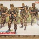 DML U.S. Rangers soldiers figures model kit MIB Unassembled 1:35