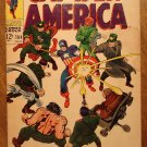Captain America #104 comic book 1968, VG condition, Marvel comics, Jack Kirby art
