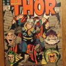 Journey Into Mystery - Thor #123 comic book, 1965, Marvel Comics, Jack Kirby art, VG condition