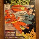 The Flash #175 (1967) comic book, DC Comics, VF/NM condition, 2nd Superman race!