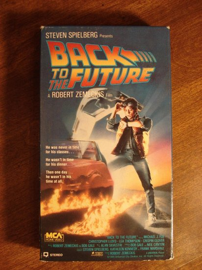 Back to the Future VHS...
