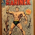 The Sub-Mariner #1 (1968) comic book, Marvel Comics, Fantastic Four, VF condition