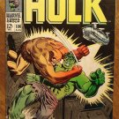 Incredible Hulk #106 (1968) comic book, Marvel Comics, VF condition, Beast-man, Nick Fury