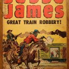 Jesse James Great Train Robbery #19 (1954) comic book, Avon comics, Good condition