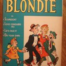 Chic Young's Blondie comic book, (1950's) Pub. by Mental Health Assoc., Good cond.