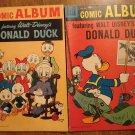 Comic Album #'s 1 & 3 (1958) comic books, Dell comics, VG, Donald Duck, Uncle Scrooge