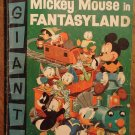 Dell Giant comic - Mickey Mouse in Fantasyland #1 (1957) comic book, G/VG condition